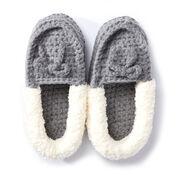 Bernat Crochet Family Moccasins, XS-S-M