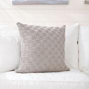 Bernat Beachside Knit Pillow