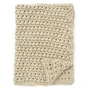 Bernat Easy Going Crochet Blanket