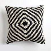 Bernat Line Up! Crochet Pillow