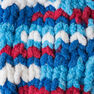 Bernat Blanket Brights Yarn (300g/10.5 oz), Red, White & Boom
