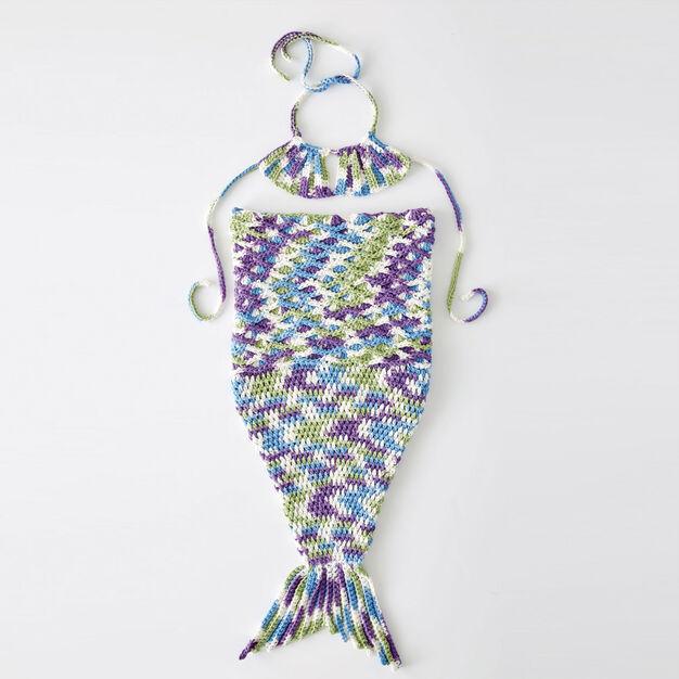 Bernat Wee Mermaid Crochet Costume