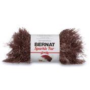Bernat Sparkle Fur Yarn, Reindeer