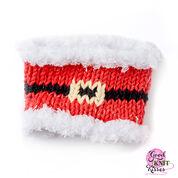 Bernat Knit Santa Mug Hug