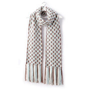 Patons Check Yourself Crochet Scarf