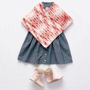 Bernat Simple Crochet Baby Poncho, 6-12 mos