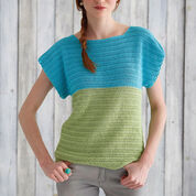 Patons Colorblock Top, XS/S