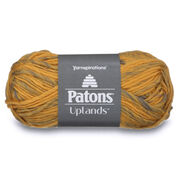 Patons Uplands Yarn, Gold & Stone Mix - Clearance Shades*
