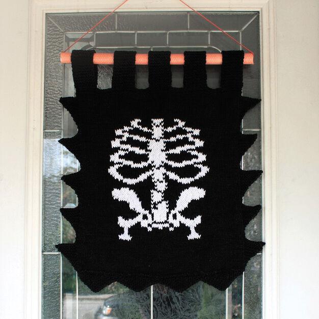 Lily Sugar'n Cream Skeleton Banner