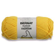 Bernat Maker Fashion Yarn, Yellow - Clearance Shades*