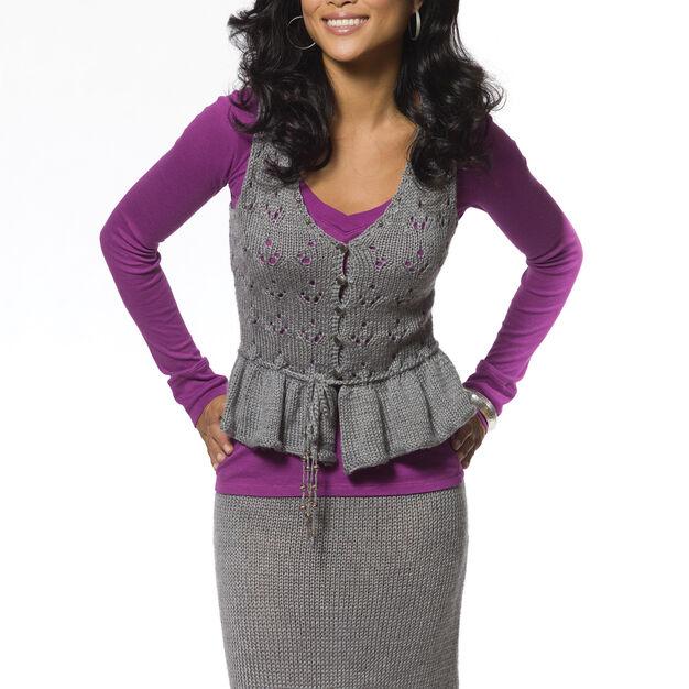 Caron Lace Stitch Cami & Skirt Set, Skirt - S