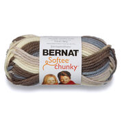 Bernat Softee Chunky Ombres Yarn (100g/80g), Nature's Way