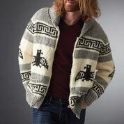 Bernat I'm the Dude Jacket, M