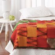 Bernat Woven Blocks Blanket