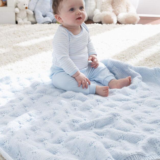 Patons Little Butterfly Baby Blanket