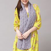 Patons Delicate Cables Scarf & Shawl Combo, Shawl