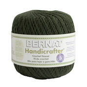 Bernat Handicrafter Crochet Thread, Evergreen - Clearance Shades*