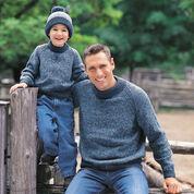 Patons Family Raglan Sweatshirt, Child - 4 Yrs