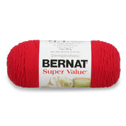 Bernat Super Value Yarn, Berry