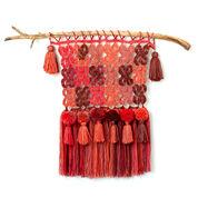 Caron Cakes Boho Crochet Wall Hanging