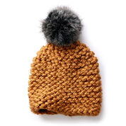 Bernat Garter Knit Hat