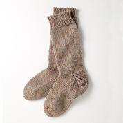Patons Slouchy Socks, Womens 5-6