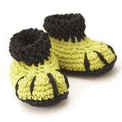 Phentex Dino Claw Slippers, 2 yrs