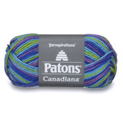 Patons Canadiana Variegates Yarn, Happy Camper Variegate - Clearance Shades*