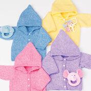 Bernat Baby's Hoodie, 6 mos