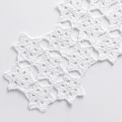 Bernat Starflake Crochet Table Runner