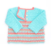 Bernat Take it From the Top Pullover, 6 mos