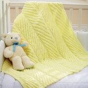 Bernat Diagonal Rib Blanket