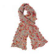 Patons Mesh Lace Scarf