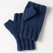 Bernat Fingerless Gloves