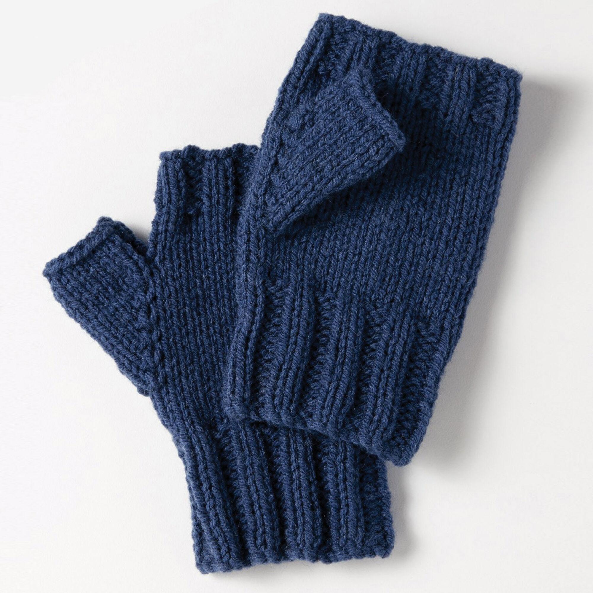 Bernat Fingerless Gloves   Yarnspirations