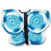 Lily Sugar'n Cream Butterfly Crochet Dishcloth