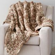 Bernat Slip Stitch Blanket