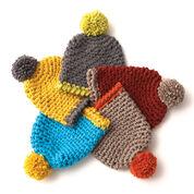 Bernat Easy Crochet Hat, Blue