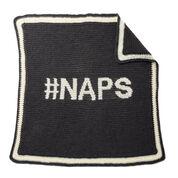 Caron #NAPS Crochet Blanket