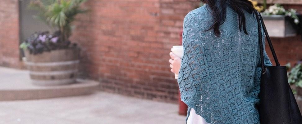 Pastoral Lace Knit Shawl Pattern Blog Yarnspirations