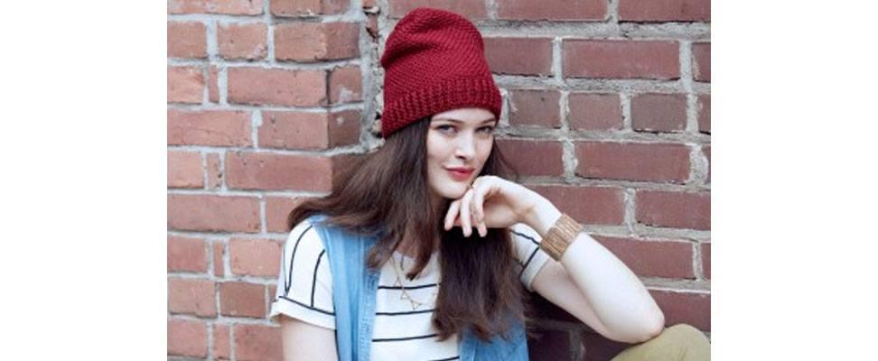 Everyday Crochet Hat in Patons Classic Wool DK Superwash yarn
