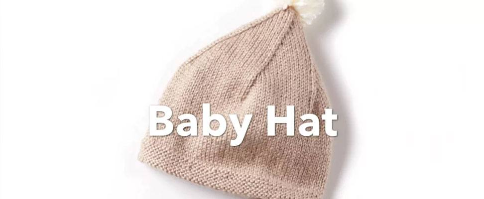 Wee Knit Hat that\'s perfect for baby! | Blog | Yarnspirations