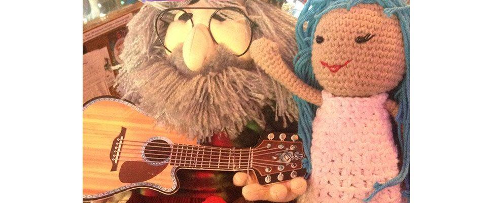 Lily Sugar'n Cream Doll making new friends