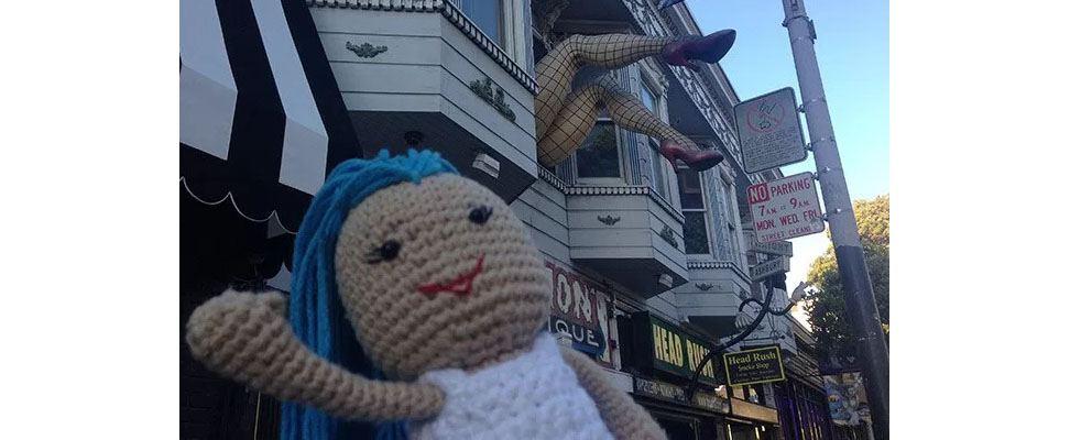 Lily Sugar'n Cream Doll at Haight and Ashbury