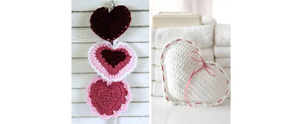 Valentine's Crochet and Knit Projects 3
