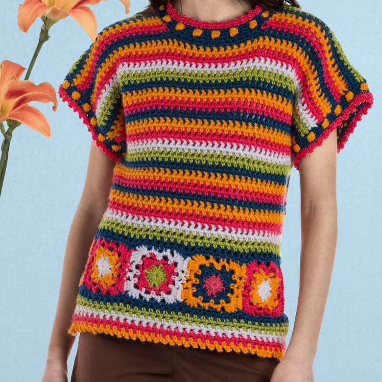 Caron boutique, over the top with sweaters, ponchos and cardigans in all the colors of Spring.