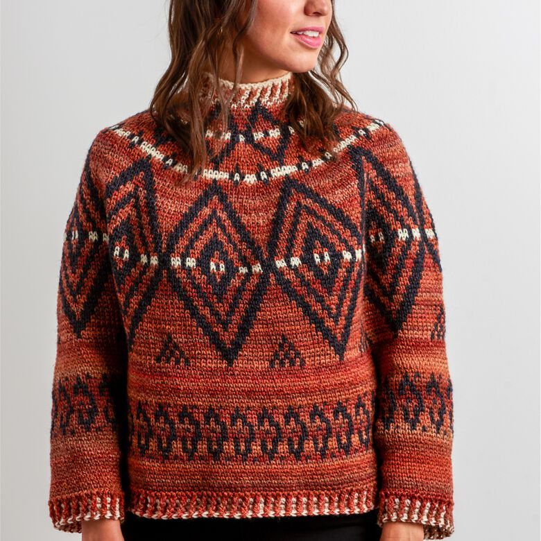 Patons Treasured sweaters pattern round up