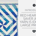 Red Heart Super Saver Jumbo Yarn is ideal for large projects