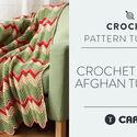 Crochet Zig Zag Afghan Tutorial