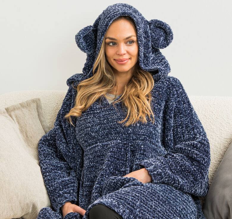 Bernat cuddly projects to feel good and lounge around in
